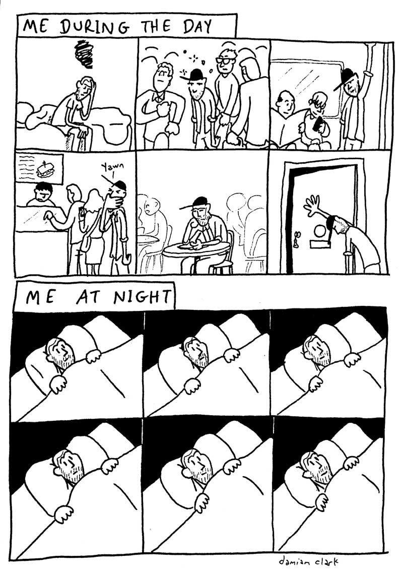 comic day & night