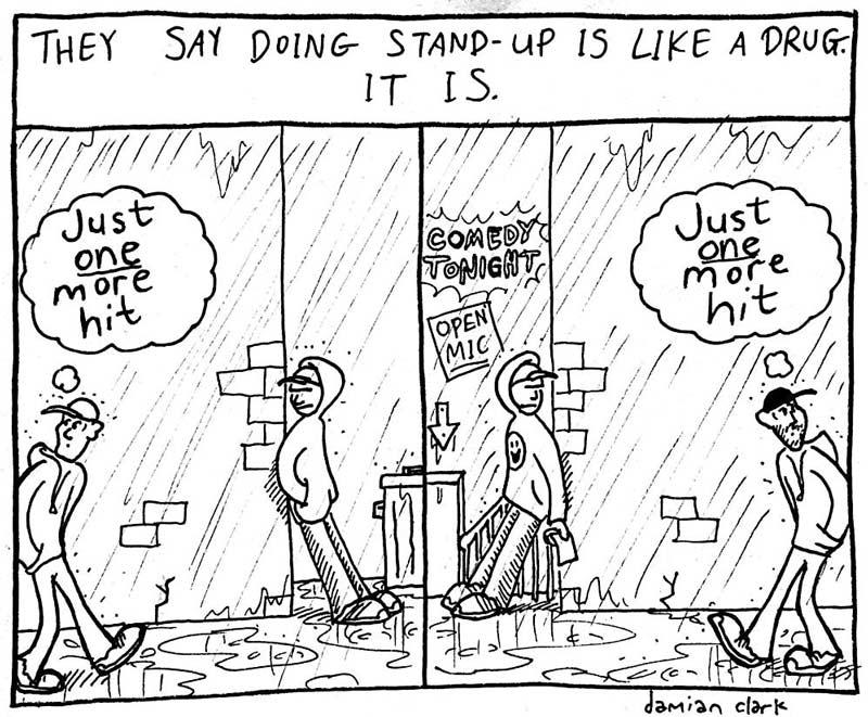 Comic like a drug