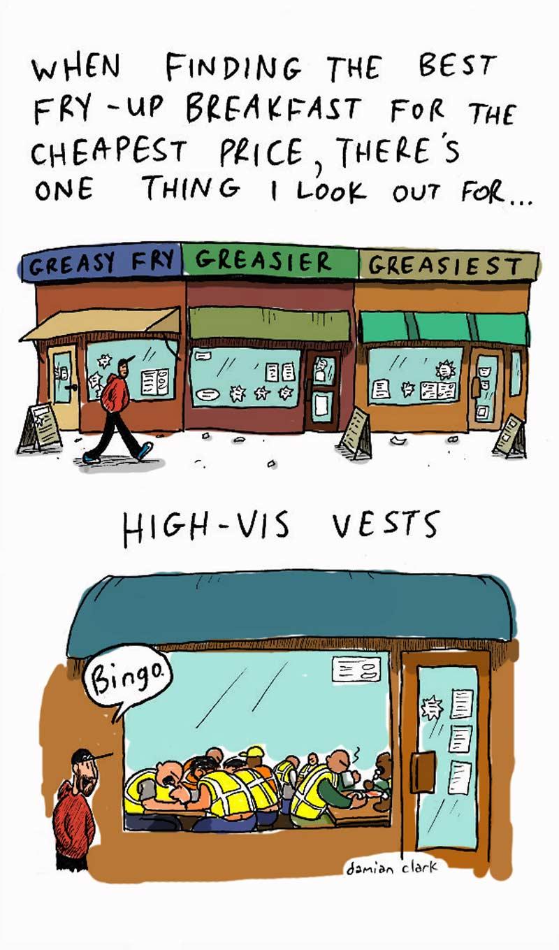 comic high-vis
