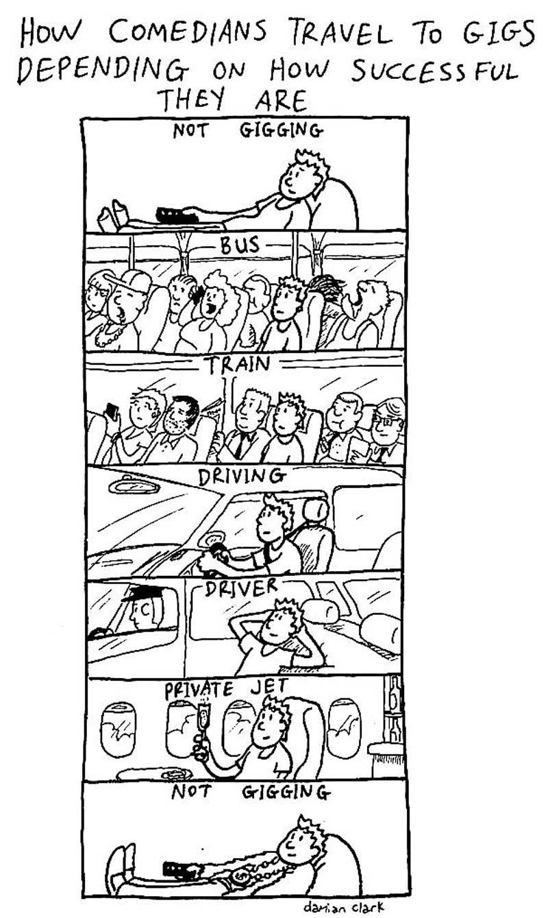 comic travelling